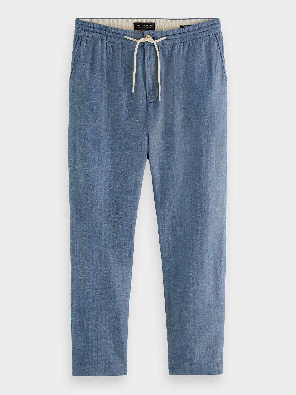 FAVE- Linen-Organic cotton blend beach pant