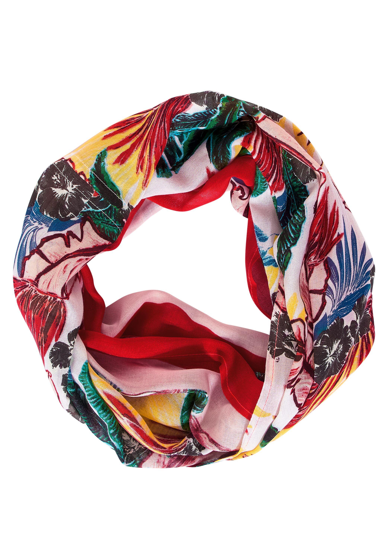 Loop mit Hawaii Print