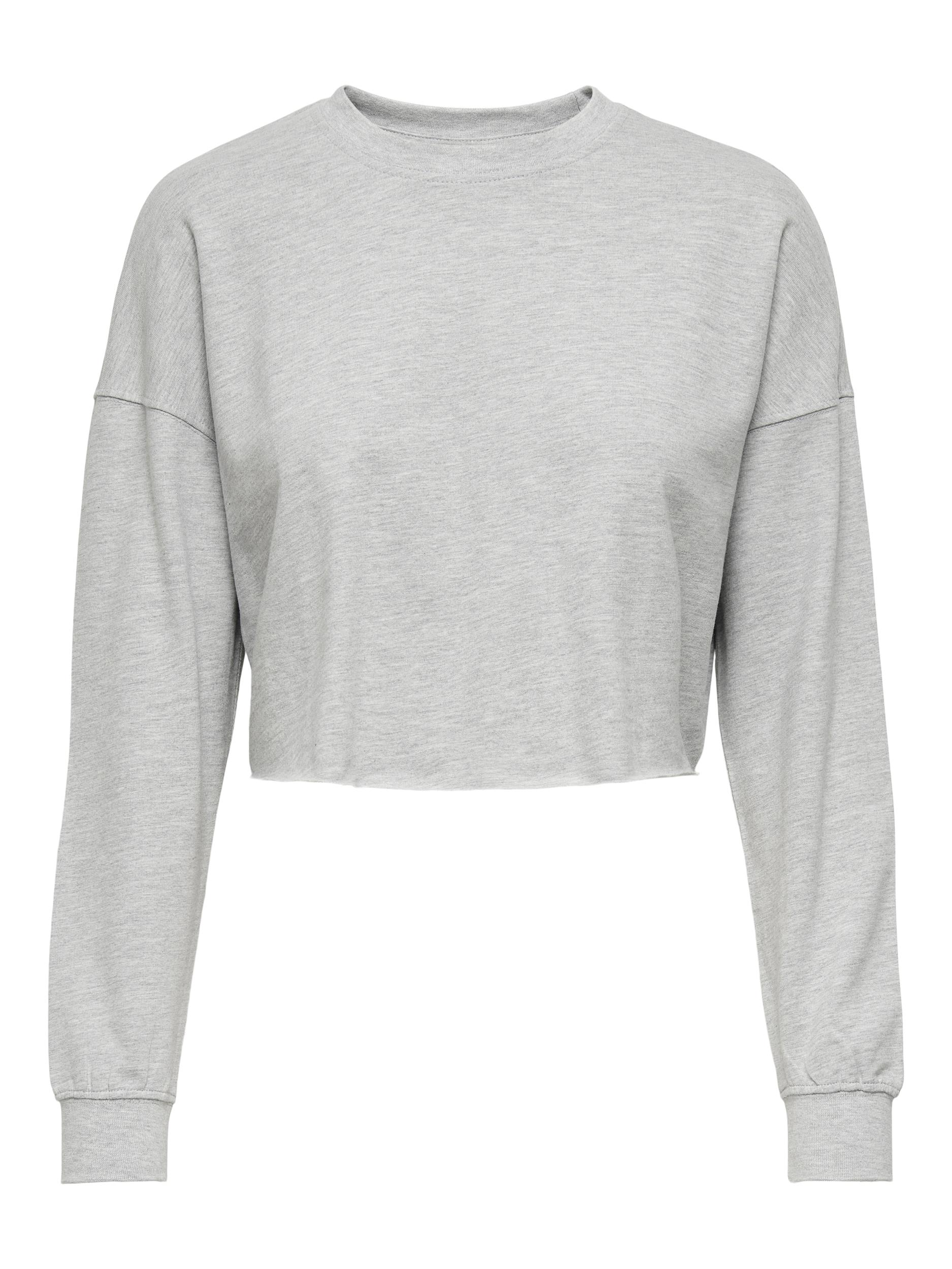 ONLZOEY LIFE  L/S CROPPED SWT