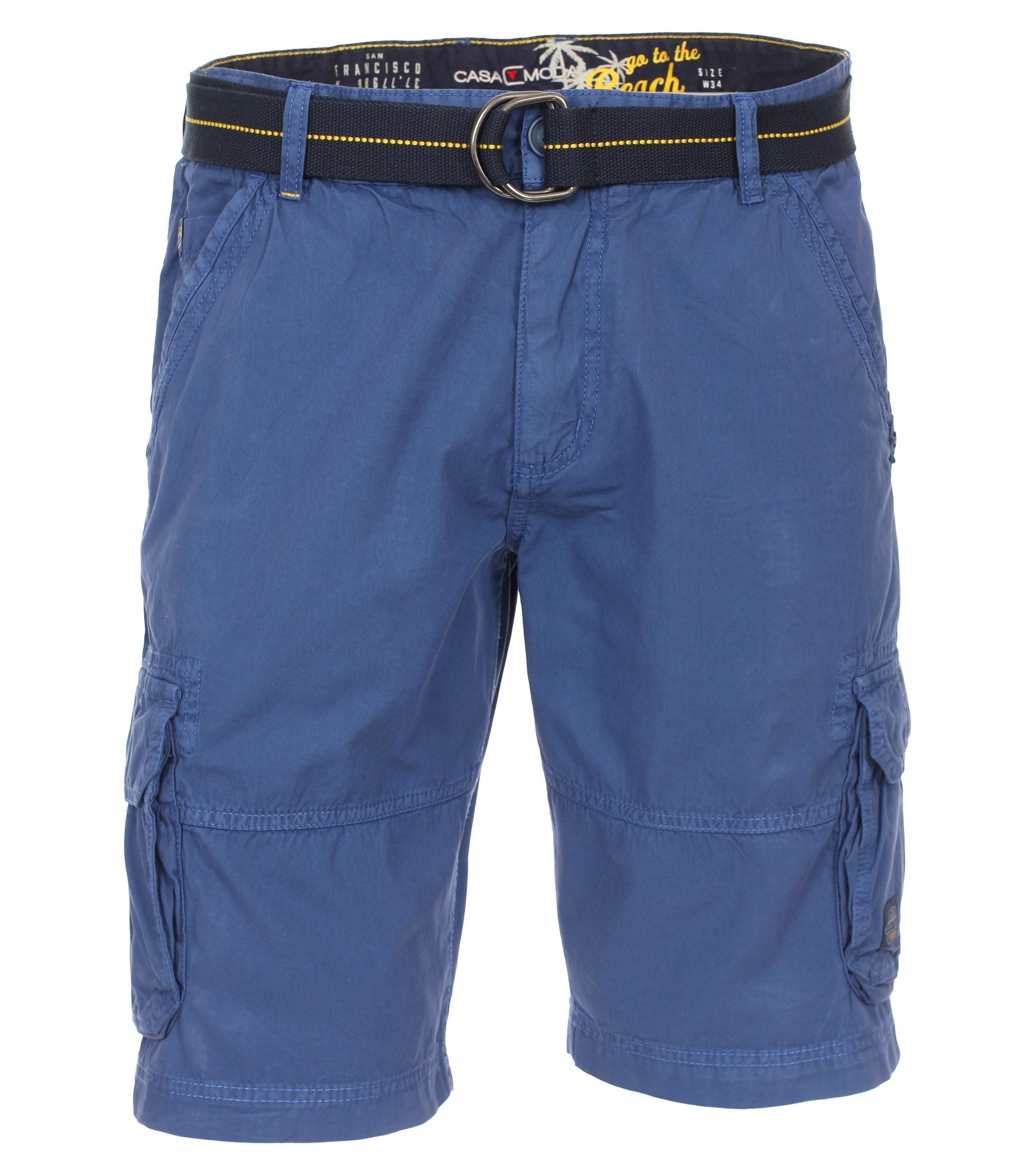 Gewebt Shorts uni
