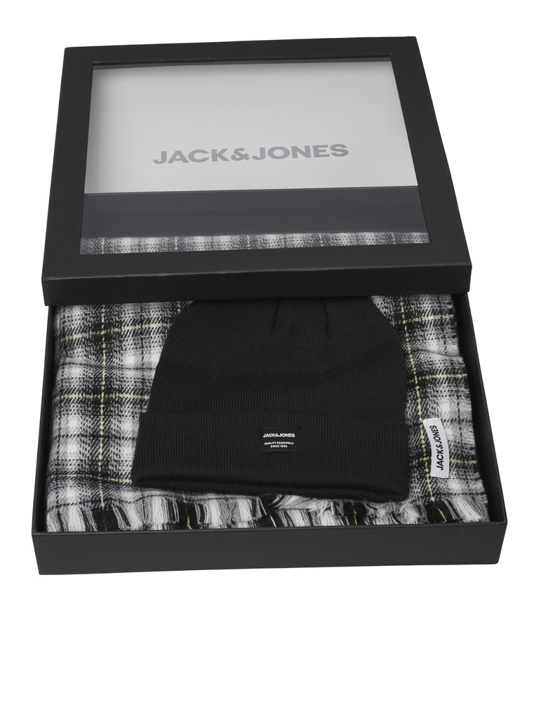 JACFROST DNA BEANIE AND SCARF GIFTBOX