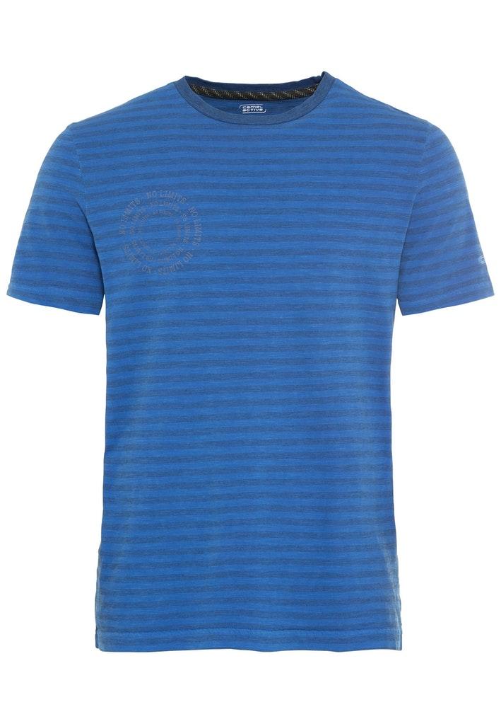 Kurzarm T-Shirt aus Baumwollmix