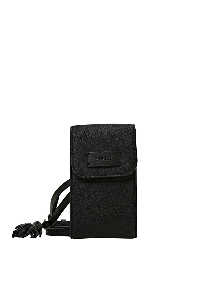 Phone Bag in Lederoptik mit Tassel-Anhänger