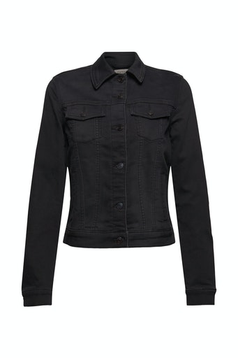 Jeansjacke aus softem Jogger-Denim