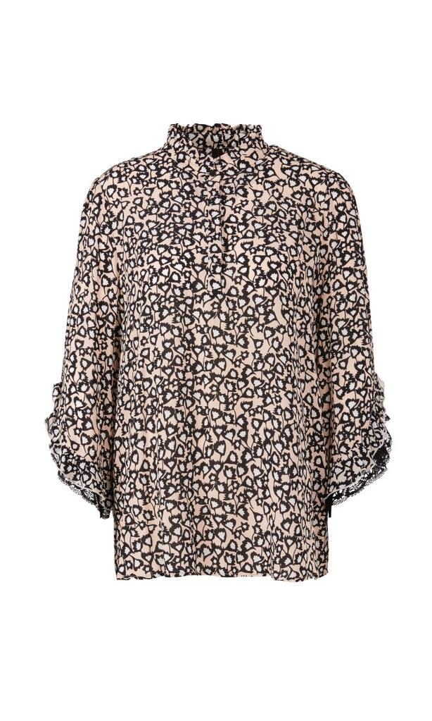 Romantische Bluse aus Viskose