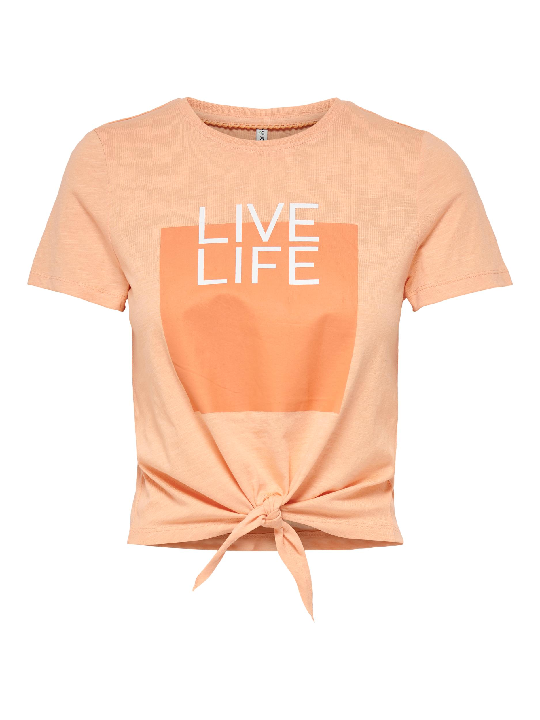 ONLSILLY LIFE S/S KNOT TOP BOX JRS