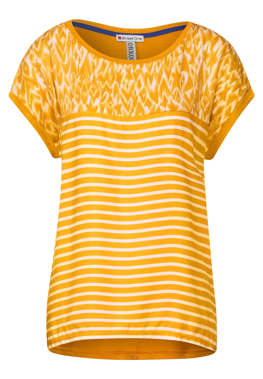T-Shirt mit Printmix
